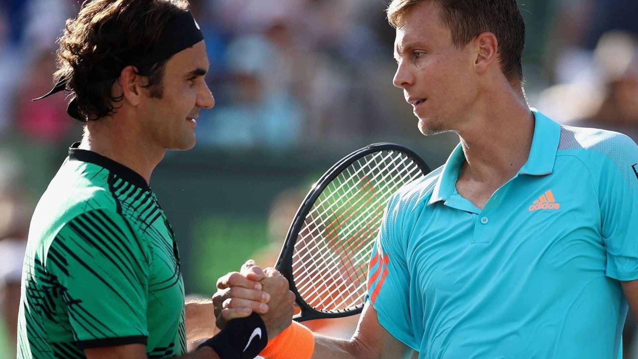 Roger Federer VS Tomas Berdych