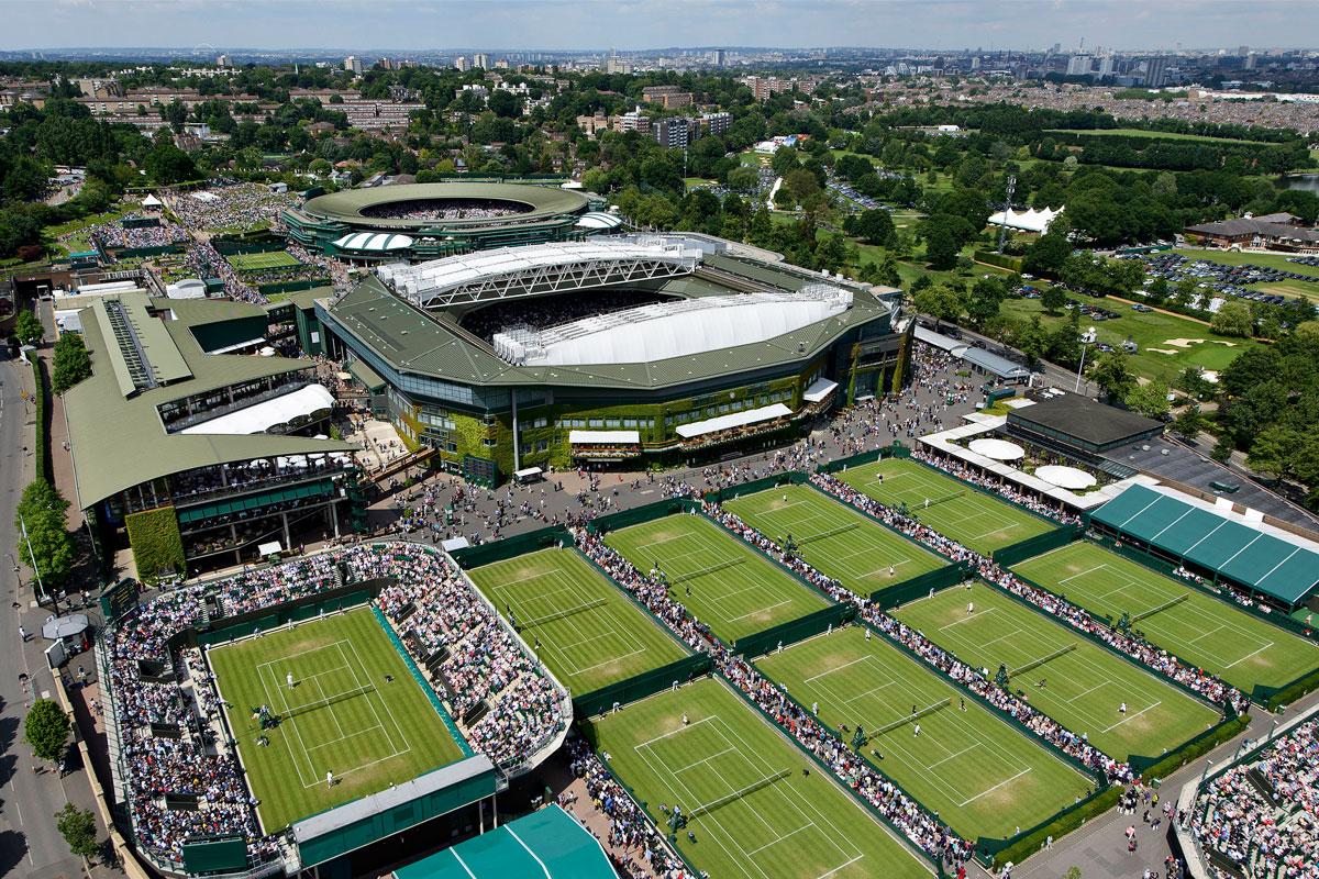 Wimbledon Stadion Tennis