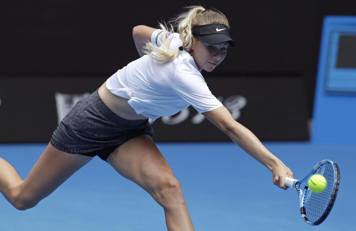 Petra Kvitova vs Ashleigh Barty WTA Australian Open 22.01 ...